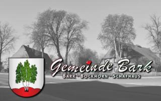 Aktuelle Infos aus der Gemeinde Bark